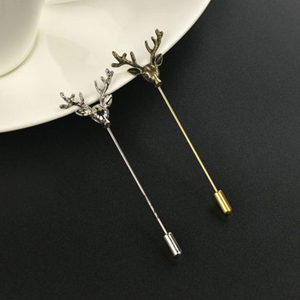 Shopping Mania Deer Pin Brooch
