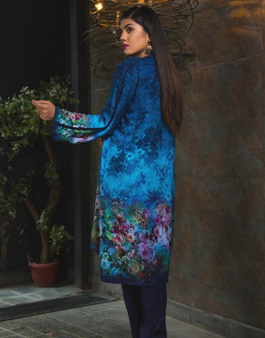 Digital V-Neck Kurti