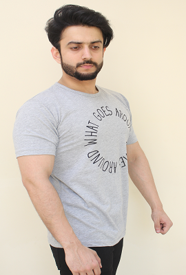 Mens T-Shirt Round Neck - RN03