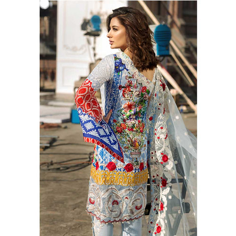 Vesttire Unstitched Lawn Suit - Enchanted VT-018-005