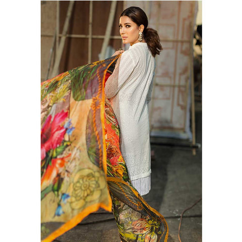 Vesttire Unstitched Lawn Suit - Euphony VT-018-001