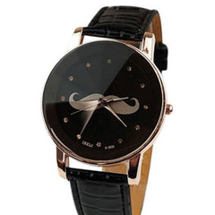 Shopping Mania Ladies Mustache Watch