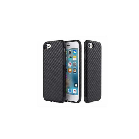 HKT Soft Carbon Fiber Case for Apple iPhone7 plus - Black