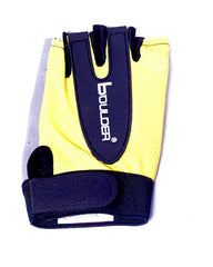 Weight Lifting Gloves Yellow & Grey For Women