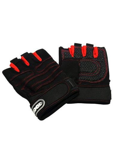 Sports Gloves For Men Red & Black