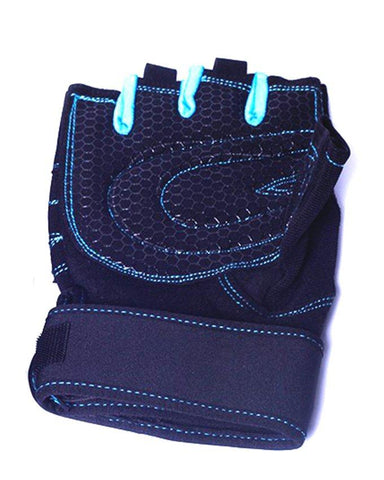 Sports Gloves for Men Light Blue