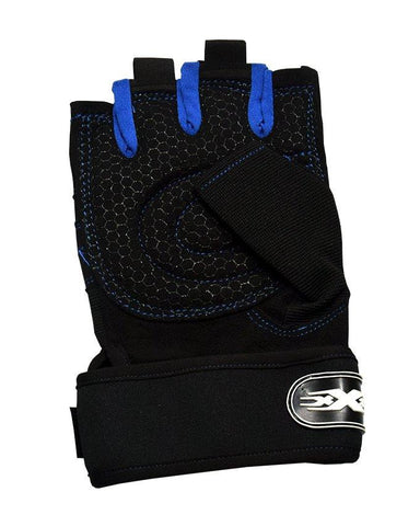 Sports Gloves For Men - Dark Blue & Black