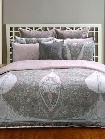 Khas New Collection Gracious Lace Quilt Cover