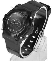 Black Digital Sports Watches for Men