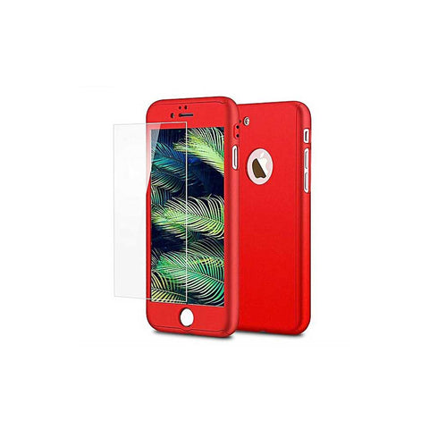 HKT 360 Protection Case For Iphone 7 Plus - Red