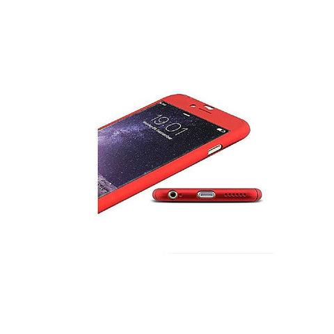 HKT 360 Soft Case for iPhone 7 plus - Red