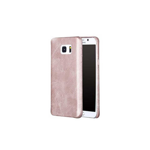 HKT Hd Leather Case For Samsung S6 Edge - Gold