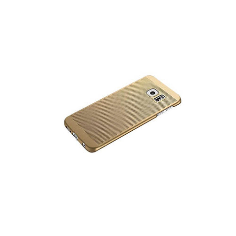 HKT Ultra Thin Net Case For Samsung S7 Edge - Golden