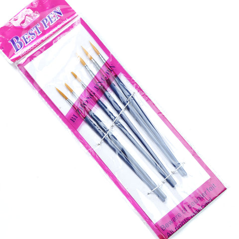 Happy Work Pen Brushes ( 6 Pcs)