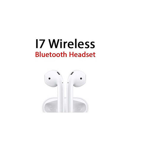 HKT Bluetooth Stereo Double Headsets with Powerbank - White