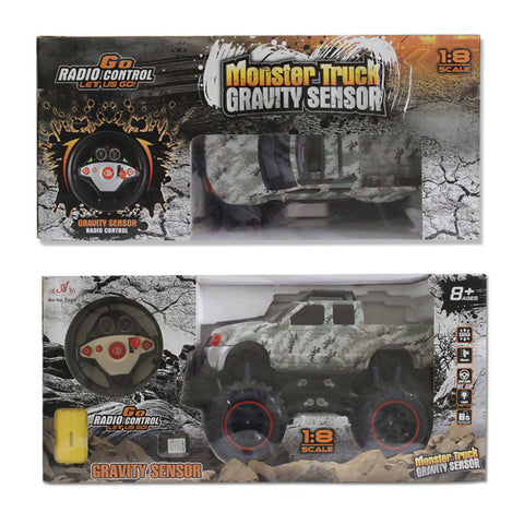 Monster Truck Gravity Sensor Remote Controlled Rock Crawling