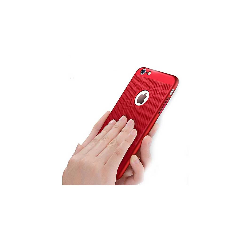 HKT Ultra Thin Net Case For Iphone 8 Plus - Red