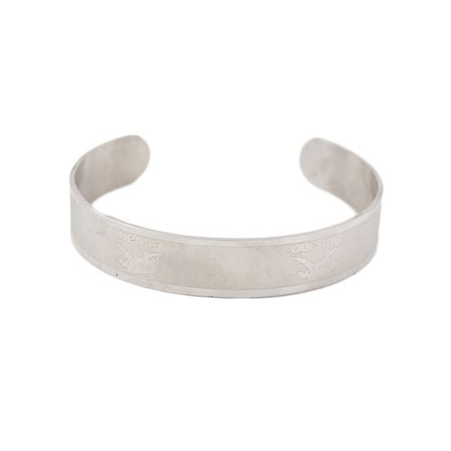 Stainless Steel Bracelet For Men and Women - Silver