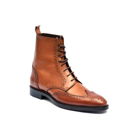 Mentorii Shoes Long In Executive Style JD 023 Brown