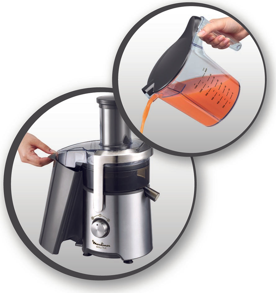 Moulinex Fruit Juicer Metal 800W JU610D27