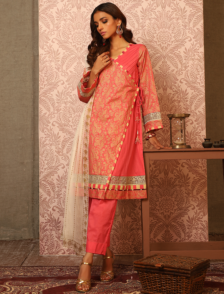 Khas Unstitched Lawn Collection Pattern Curator KC - 5079