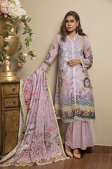 Khas Lawn Collection-Kl-4055 Stitched