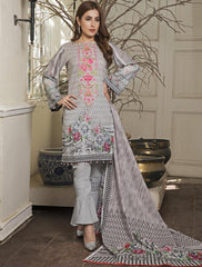 Khas Lawn Collection-Kl-4057 Stitched