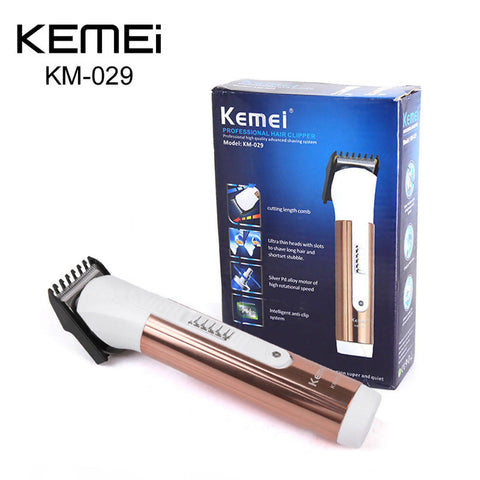 KEMEI KM-029 Electric Hair Clipper Trimmer with Limit Comb -2432A