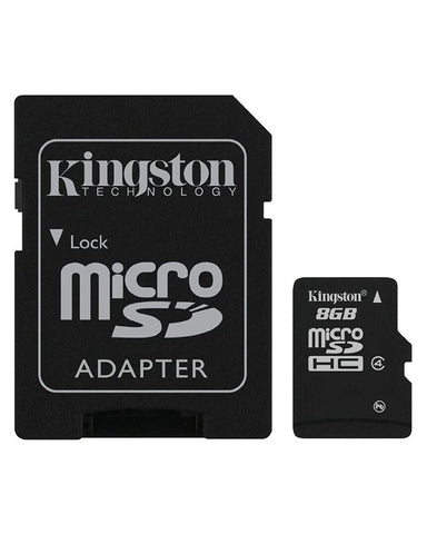 Kingston MICRO SD 8GB Memory Card