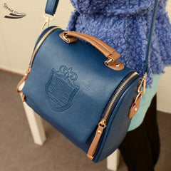 Shopping Mania Korean Fashion Handbag PU Leather Bag