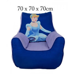 Cinderella Sofa Chair Bean Bag - Purple