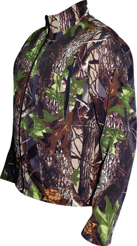 Mega Brand Men's Hunting Waterfowl Soft-shell Camo Jacket MBH-211