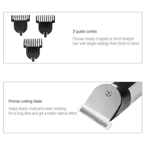 Kemei KM 723 Electric Hair Trimmer Professional Hair Clipper Trimmer for Men Hair Shaver 2432B