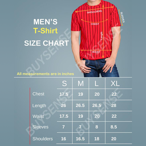 BuySense Cotton Printed T-Shirt For Men (Pack of 3)