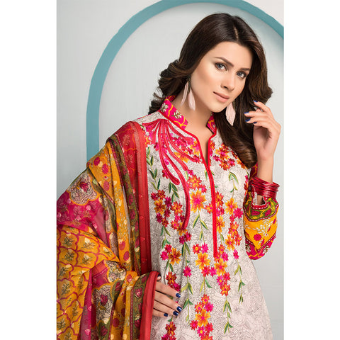 Noor Jahan Royal Couture Lawn Suit - NJ-212