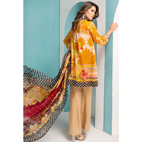 Noor Jahan Royal Couture Lawn Suit - NJ-216