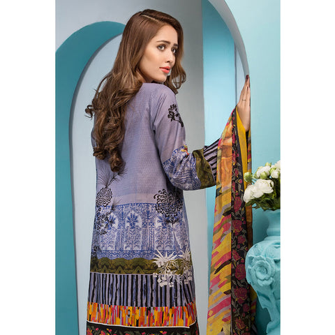 Noor Jahan Royal Couture Lawn Suit - NJ-217