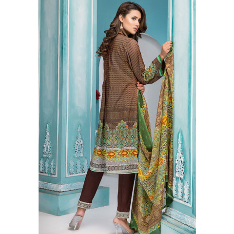 Noor Jahan Royal Couture Lawn Suit - NJ-218