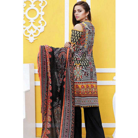 Noor Jahan Black Pearl Lawn Suit - NJ-306