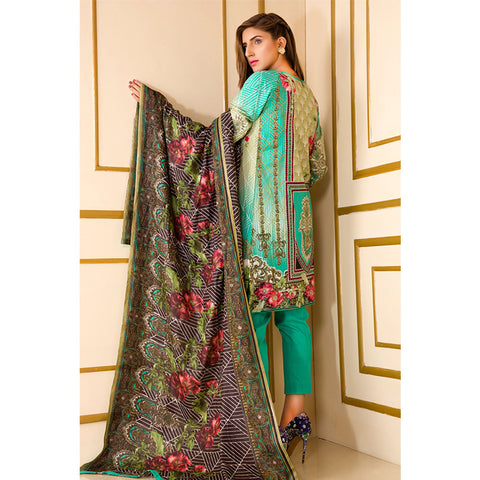 Noor Jahan Rough Beauty Lawn Suit - NJ-415