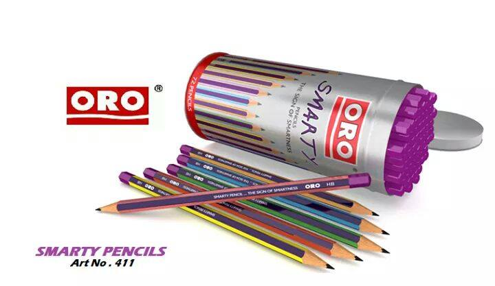 ORO Smarty Pencils Art 411- Pcs-72