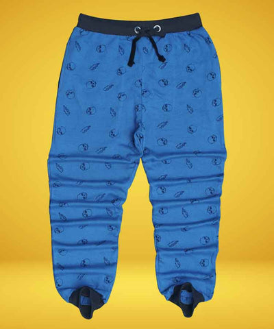 JOGGER PANTS WITH SKULL PRINTED-PJ-05