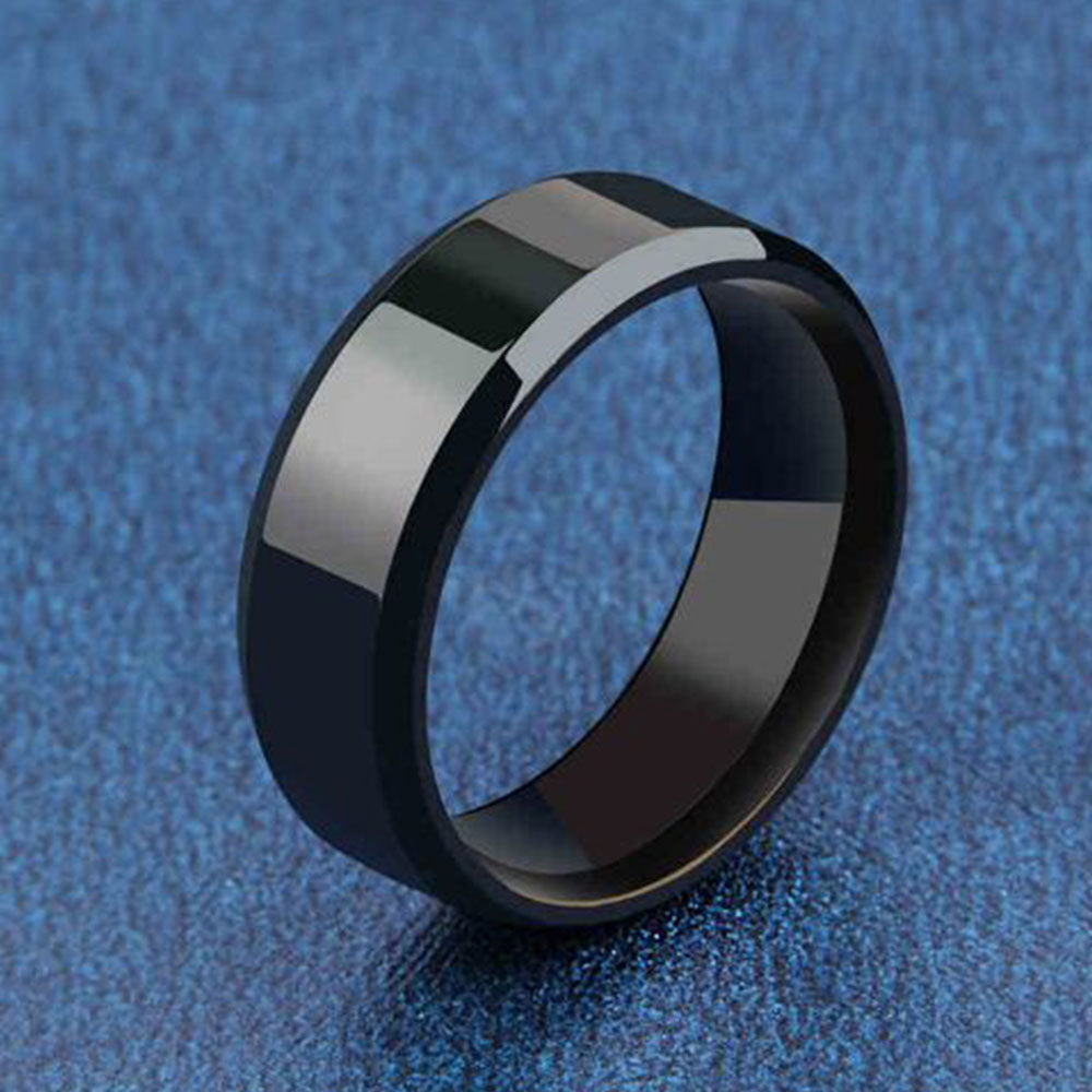 Shopping Mania Titanium Party Ring