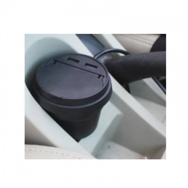 2 in One Car Ashtray and Car Charger