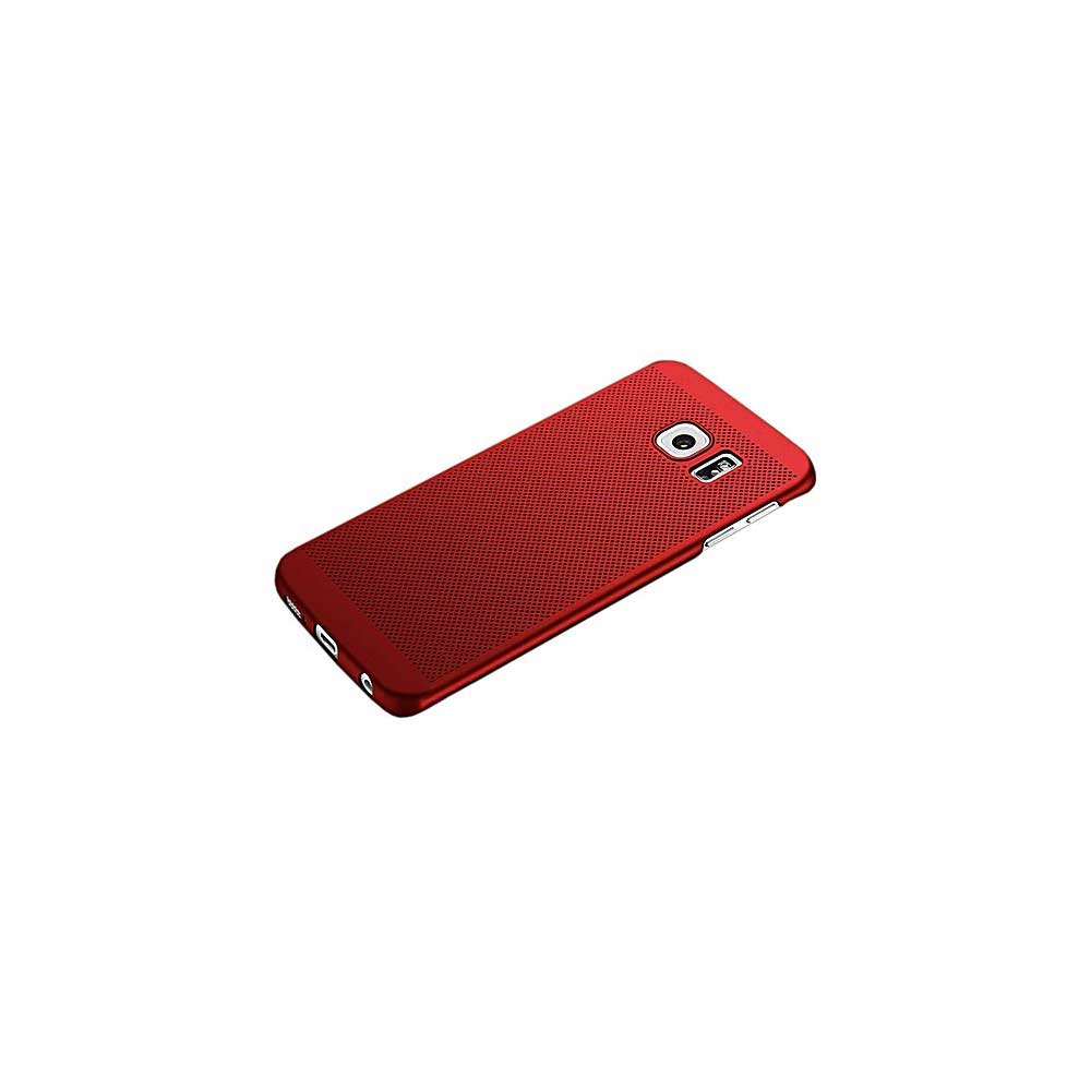 HKT Ultra Thin Net Case For Samsung S7 Edge - Red