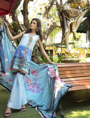 Khas Lawn Collection-Kl-4062 Stitched