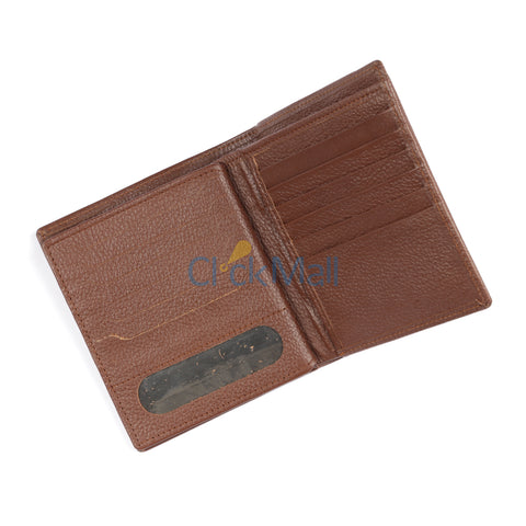 Sheikh Leather Brown Leather Wallet-01 SLC-CowC-Mild