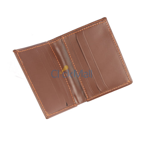 Sheikh Leather Brown Leather Wallet-02 SLC-Long-D-Cut