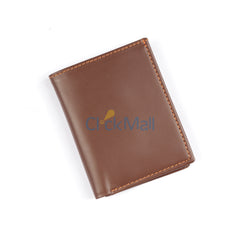 SL Original Brown Leather Wallet-05 SLC-C-Cover- Buy 1 Get 1 Free