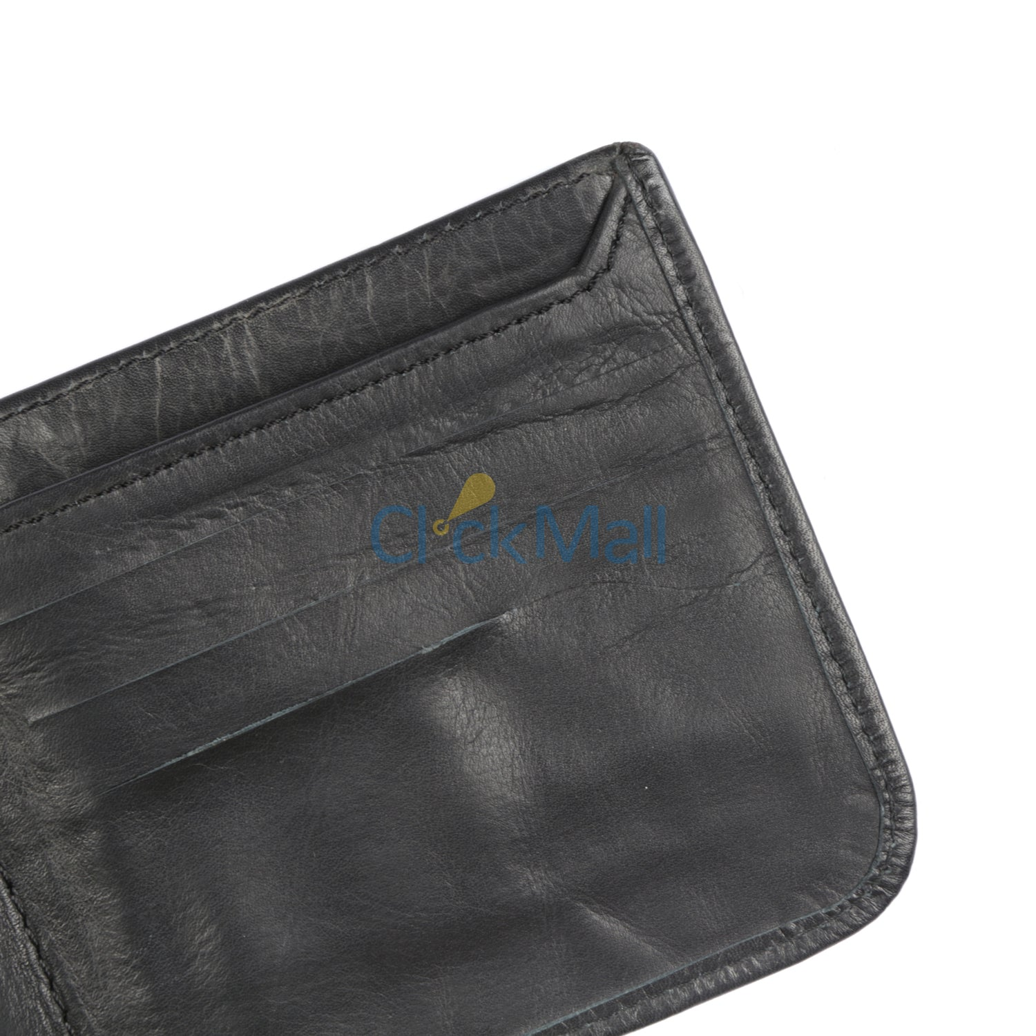 Sheikh Leather Black Leather Wallet-05 SLC-COW SOFT